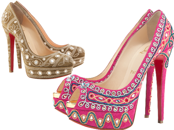 Коллекция обуви Christian Louboutin весна-лето 2012