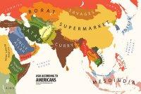 Азия с точки зрения американцев
