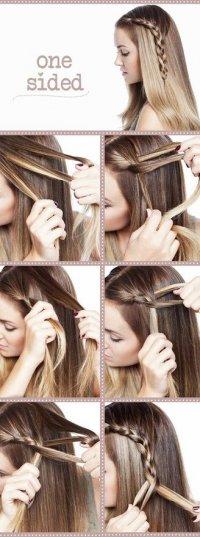 Красивое и необычное плетение косы