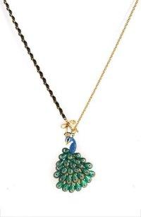 Ожерелье-павлин