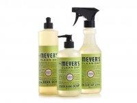 Экологичные чистящие и моющие средства Mrs. Meyer's Kitchen Basics Set