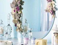 Фетровые украшения для зеркал