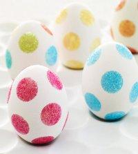 Пасхальные яйца без покраски