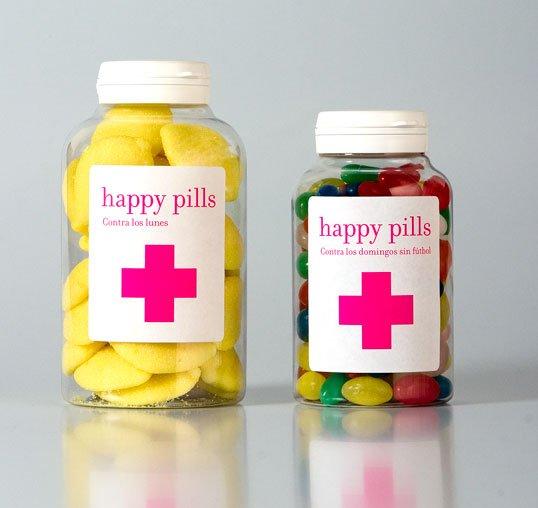 Сладкие таблетки счастья