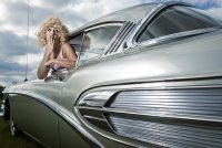 Советы блондинкам за рулем