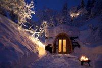 Мини-отель в горах Швейцарии