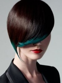 Модный тренд весны-2012: цветные пряди