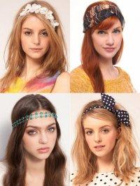 Модные аксессуары для волос 2012