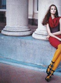 Желтые ноги нынче в моде