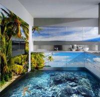 Наливные 3D-полы: изюминка интерьера