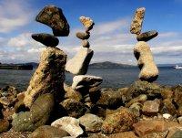 Камни, висящие в воздухе