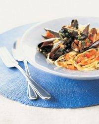 Классическая паста с морепродуктами