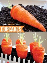 Капкейк-морковка