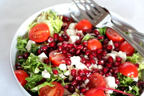 Гранатовый салат с фетой