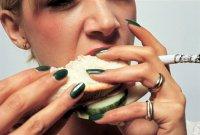 Посадите курение на диету