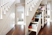 Лестница-шкаф: необычное интерьерное решение