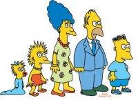 Поздравляем с праздником семейку Симпсонов