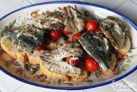 Бутерброд с сардинками и помидорами от Юлии Высоцкой