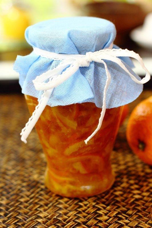 Апельсиновый конфитюр