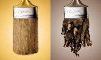 Креативная реклама краски для волос