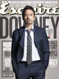 Роберт Дауни-младший снялся для обложки Esquire