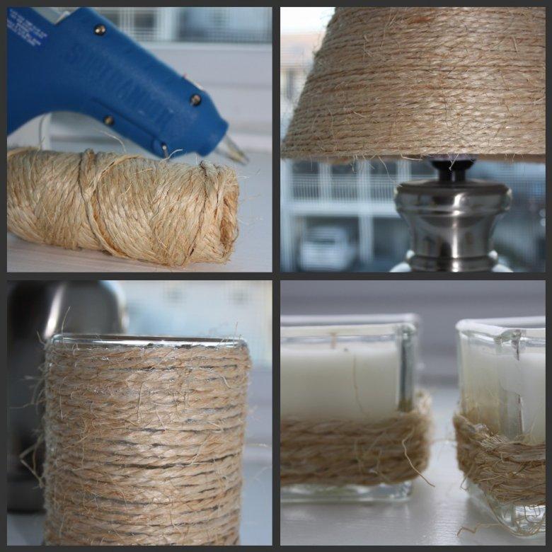Декор лампы и подсвечников
