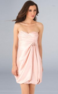 Как носить платье без бретелей?