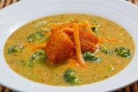 Суп с брокколи и сыром