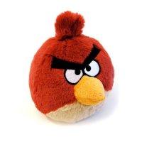 Плюшевая подушка Angry Birds атакует
