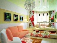Отличный дизайн интерьера однокомнатной квартиры