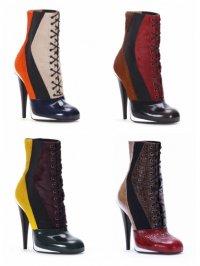 Коллекция обуви от Fendi