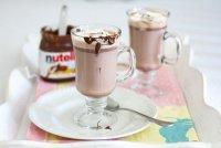 Горячий шоколад с нутеллой