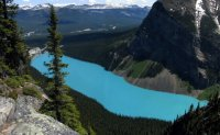 Озеро Луиза - неземной цвет воды