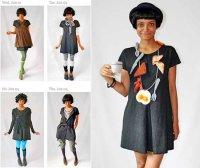 Модное испытание: в одном платье – весь год
