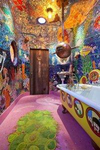 Интерьер ванной: «Желтая субмарина»