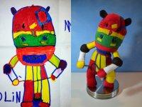 Child's Own Studio. Плюшевые игрушки по детским рисункам
