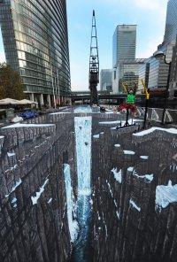 Рекорд Гиннесса – самый большой уличный 3D-рисунок в мире