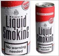 Жидкий никотин в баночке Liquid Smoking