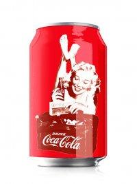 Кока-кола в стиле ретро