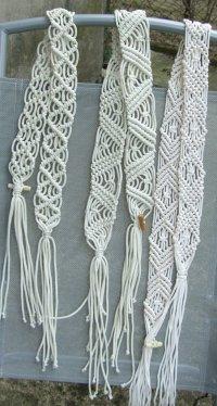 Макраме - популярная техника узелкового плетения