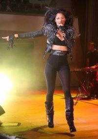 Певица Николь Шерзингер на концерте в Белфасте 15 февраля вышла на сцену в трусах