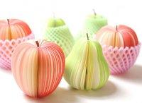 Бумага-липучка - оформите офис креативными фруктами