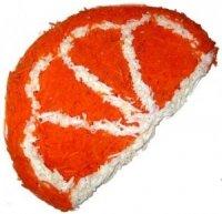 Долька апельсина - оригинальный салат