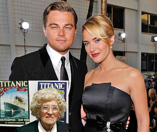 Леонардо Ди Каприо и Кейт Уинслет сделали пожертвование выжившей пассажирке Титаника