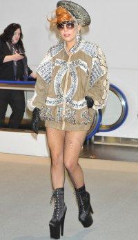 Леди Гага в японском аэропорту