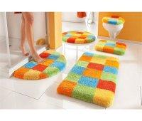 Цветные коврики для ванны