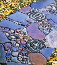 Садовая дорожка из камней