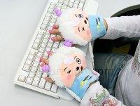 USB Sheep Heating Gloves - перчатки с подогревом