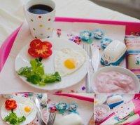 Яркий завтрак