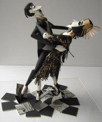 Бумажный балет в исполнении Шер Кристофер